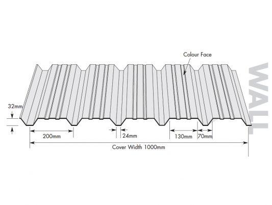 WMS 32/1000A Wall Profile